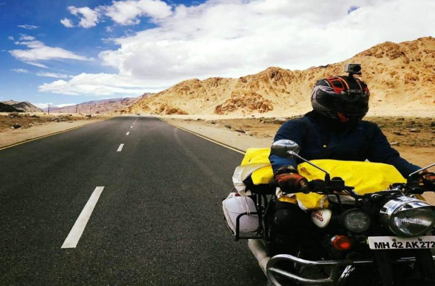 Trip to Ladakh on Bullet Classic 350